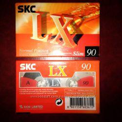 Аудиокассеты новые SKC Магнітофонна касета