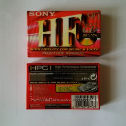 Аудиокассеты новые SONY Магнітофонна касета