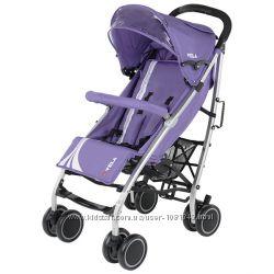 Прогулочная коляска Quatro Vela цвет фиолетовый
