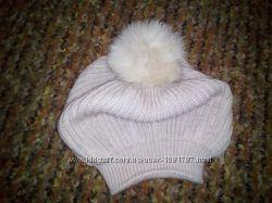 Новая, красивая шапка- берет.