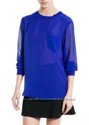 Шифоновая блуза Mango размер EUR XL-USA L на 50 RU Акция