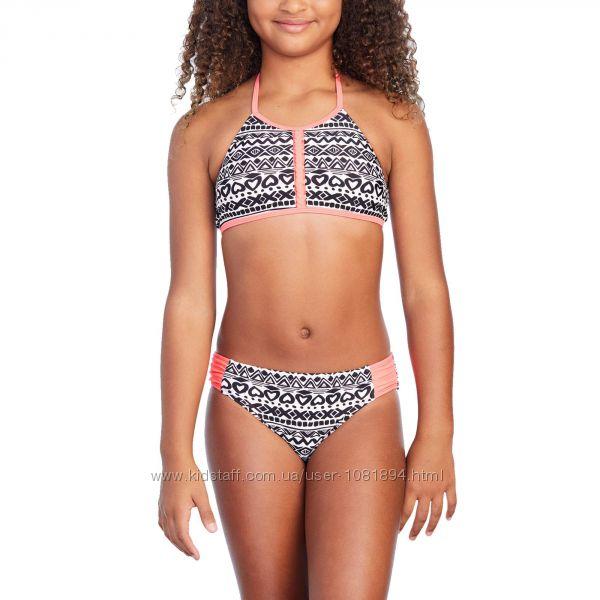 Купальник для девочек США на рост 116-135 140-155 см детские купальники