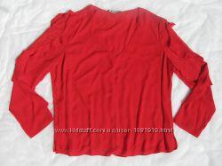 Блуза женская GEORGE р. XXL 54 RU шифоновая с кружевными вставками на рукав