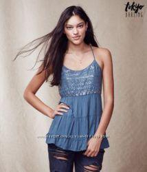 Женская блузка-топ Aеropostale размер XL с паетками блузки Акция