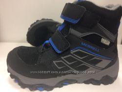 Ботинки утепленные для  мальчиков Merrell ml-b moab polar
