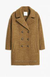 Пальто из шерсти mango