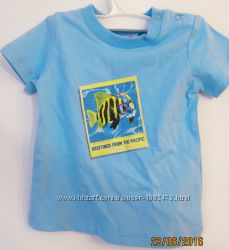 Акція футболка з рибкою MEXX, 62-68 см