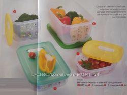 Набор контейнеров Умный холодильник 800 мл1, 8л1, 8 л4 4 л.