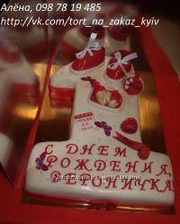 Торт на годик Единичка, Киев, Позняки