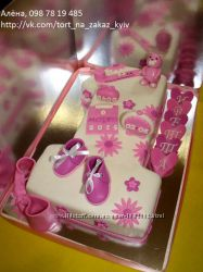 Торт единичка для девочки Киев