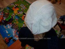классная шапка берет с козырьком