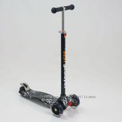 Самокат Best scooter 4 колеса, свет, полиуритановые колеса. 4 вида