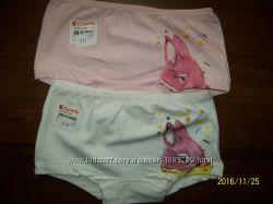 отличного качества  трусы-шорты для девчонок 4-5 лет тм. Donella