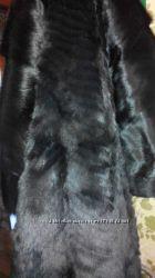 Шуба из меха волка