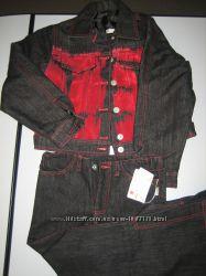 Продам костюм джинсовый девочка утепленный