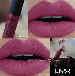 Матовое суфле для губ NYX Soft Matte Lip Cream