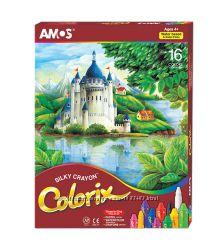 Пастель акварельная 16 цветов