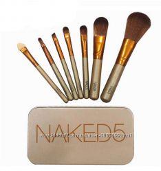 Кисти для макияжа визажа Naked5 7шт.