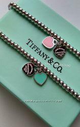 браслет тиффани Tiffany сердце 425 грн браслеты женские купить