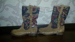 Сапоги- ботинки- полусапожки promod 37 р