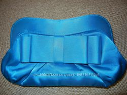 Клатч сине-голубого цвета