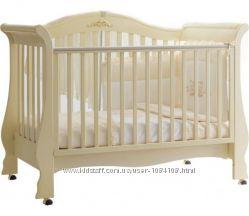 Шикарная кроватка для принцессы итальянского бренда Pali, бу, отличн. сост.