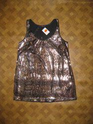 красивая туника, футболка - большой размер - Evans - 48Eur - наш 52-54рр.