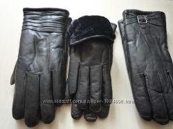 Перчатки женские натур. кожа  натуральный мех