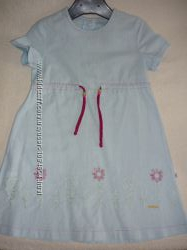 Платье голубенькое