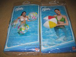 Новый мяч пляжный надувной 61 см Bestway, нарукавники