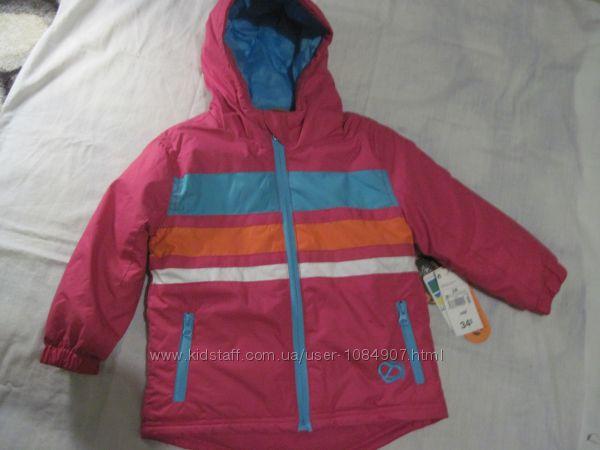 Демисезонная куртка на девочку фирмы Kiabi, новая, на 2 года