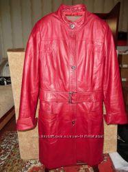 Кожаное пальто Olivia