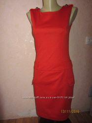 Тёплое платье с погонами