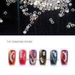 Нереальный блеск. Стразы, кристаллы для ногтей SS3, SS4. Стекло