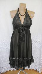 Стильное нежное новое платье с декором KOOKAI шелк S 44-46 A24N