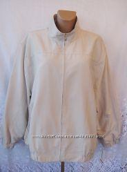 Новая стильная куртка ALFRED DUNNER полиэстер хлопок 3Х 58-60 А256N