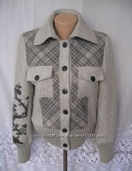Стильная новая теплая куртка ST-MARTINS M 46-48 шерсть 273N