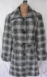Стильное демисезонное пальто MISS H полиэстер XL 52-54 B14N