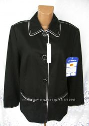 Стильная новая куртка SIXTH SENSE лен полиэстер XL 52-54 B81N