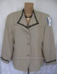 Стильный новый пиджак ANDREA KAY полиэстер XL 52-54 B126N