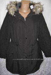 Стильное новое пальто с капюшоном NEW LOOK полиэстер XXL 54-56 B132N