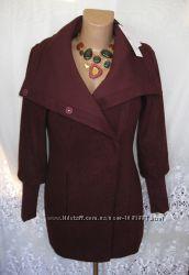 Стильное новое пальто VERO MODA полиэстер шерсть вискоза M 46-48 B133N