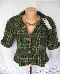 Новый стильный пиджак OUTFITTERS NATION XS полиэстер шерсть B147N