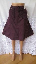 Яркая новая юбка YESSICA C&A хлопок L 48-50 B229N