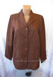 Практичная новая куртка пиджак SETTER LADY полиэстер L 50-52 А160N
