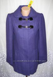 Новое стильное пальто GEORGE полиэстер вискоза S 44-46 C10N