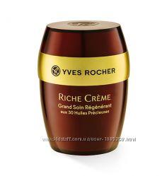 Восстанавливающий Крем с 30 Ценными Маслами марки Yves Rocher