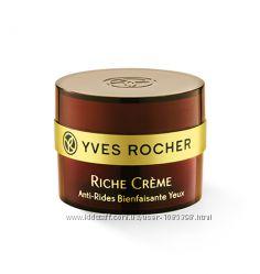 Благотворный Крем  для Контура Глаз c 30 Ценными Маслами Yves Rocher