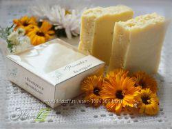 Ромашка и календула - натуральное мыло ручной работы