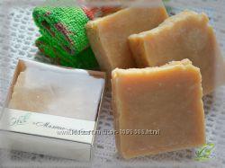 Молочно-медовое - натуральное мыло ручной работы с молоком и медом
